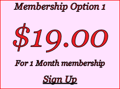 Membership Option 1 $19.00 For 1 Month membership Sign Up