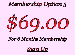Membership Option 3 $69.00 For 6 Months Membership Sign Up