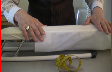 pressing a standard sleeve